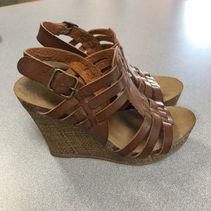 MIA wedges size 7.5